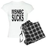 MSNBC Sucks Women's Light Pajamas