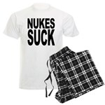 Nukes Suck Men's Light Pajamas