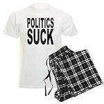Politics Suck Men's Light Pajamas