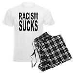 Racism Sucks Men's Light Pajamas