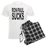 Ron Paul Sucks Men's Light Pajamas