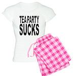 Tea Party Sucks Women's Light Pajamas