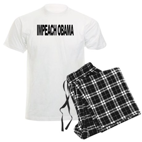 Impeach Obama (L) Men's Light Pajamas