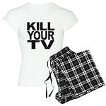 Kill Your TV Women's Light Pajamas