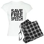 Save Free Speech Women's Light Pajamas