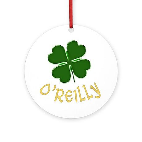 Irish O'Reilly Ornament (Round)
