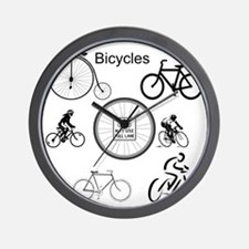 Bicycles May Use Full Lane Wall Clock
