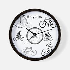 Bicycles May Use Full Lane Wall Clock