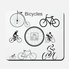 Bicycles May Use Full Lane Mousepad