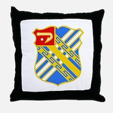 DUI - 2nd Bn - 18th FA Regt Throw Pillow