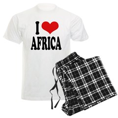 I Love Africa Pajamas