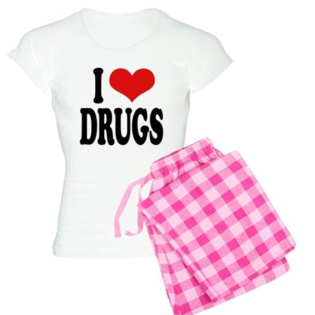 I Love Drugs Women's Light Pajamas