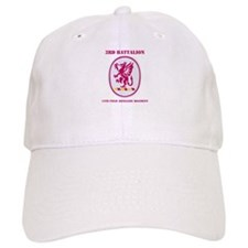 DUI - 3rd Bn - 13th FA Regt with Text Baseball Cap
