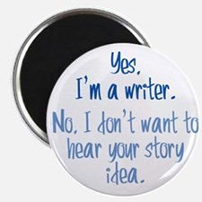 Writers and Story Ideas Magnet