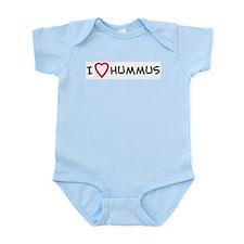I Love Hummus Infant Creeper