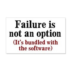 Software Failure Wall Decal