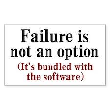 Software Failure Decal