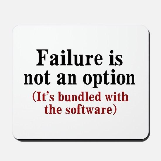 Software Failure Mousepad