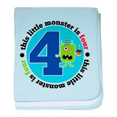This Monster i 4 baby blanket