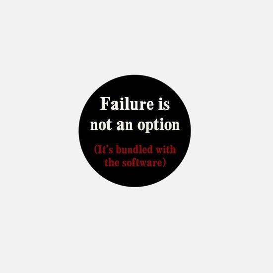Software Failure Mini Button