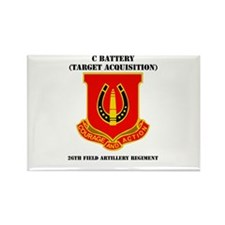 DUI - C Btry(Tgt Acq) - 26th FA Regt with Text Rec