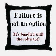 Software Failure Throw Pillow