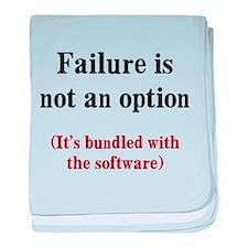 Software Failure baby blanket
