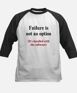 Software Failure Kids Baseball Jersey