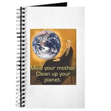 Mother Earth Says Clean Up Journal