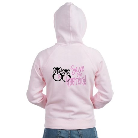 Save the Hooters Women's Zip Hoodie