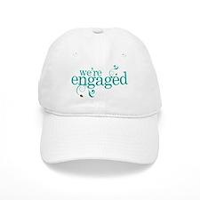 Engagement We're Engaged Baseball Cap