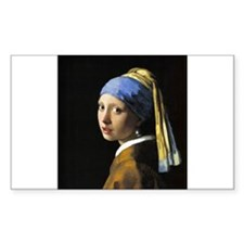 Girl with a Pearl Earring Decal