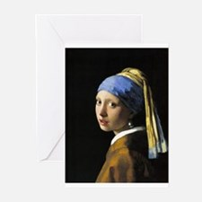 Girl with a Pearl Earring Greeting Cards (Pk of 20