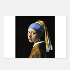 Girl with a Pearl Earring Postcards (Package of 8)