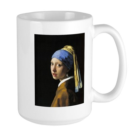 Girl with a Pearl Earring Large Mug