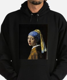 Girl with a Pearl Earring Hoodie (dark)