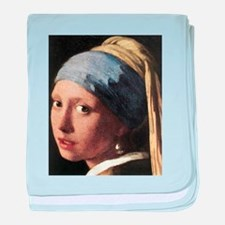 Girl with a Pearl Earring (de baby blanket