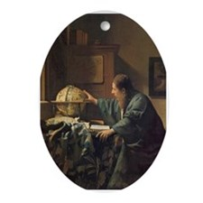 The Astronomer Ornament (Oval)