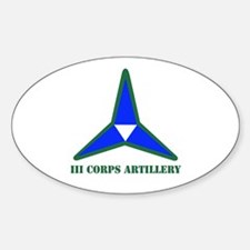 DUI - I Corps with Text Decal