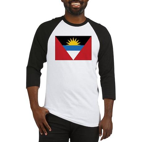 Antigua Flag Baseball Jersey