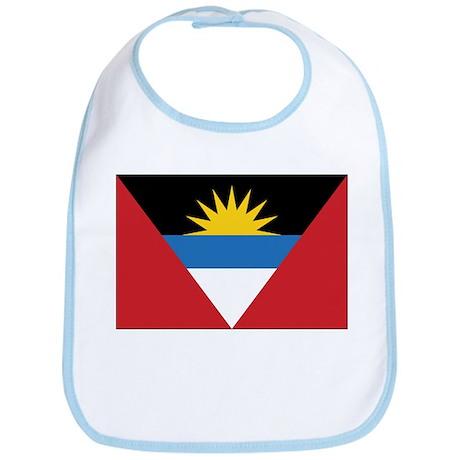 Antigua Flag Bib