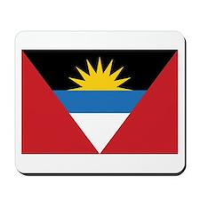 Antigua Flag Mousepad