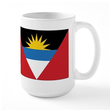 Antigua Flag Large Mug