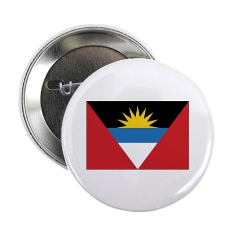"Antigua Flag 2.25"" Button (10 pack)"
