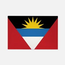 Antigua Flag Rectangle Magnet