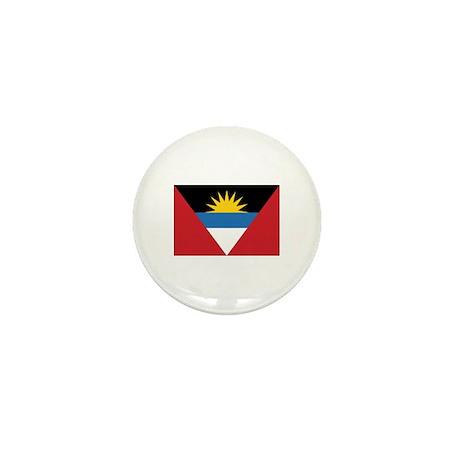 Antigua Flag Mini Button (100 pack)