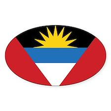 Antigua Flag Decal