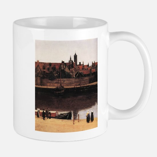 View of Delft (detail) Mug