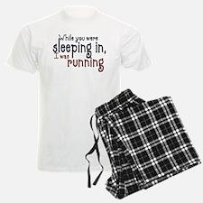Sleeping in Pajamas