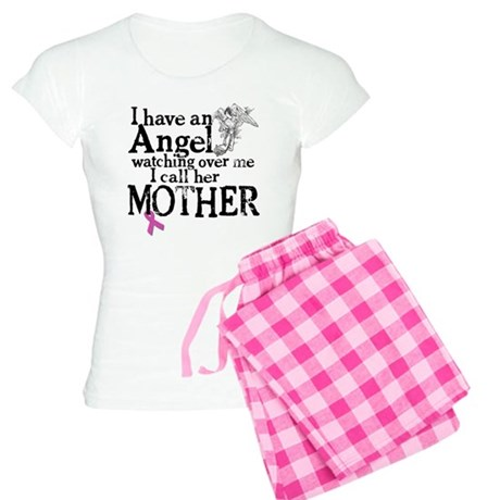 Breast Cancer Mother Angel Women's Light Pajamas